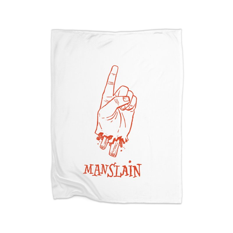 MANSLAIN Home Blanket by Dustin Harbin's Sweet T's!