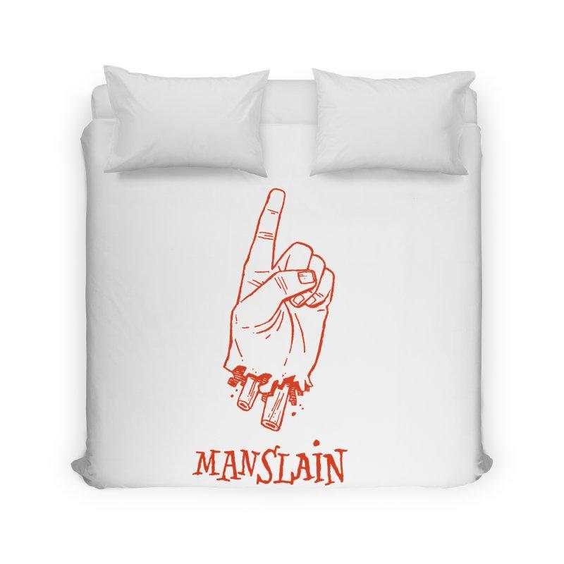 MANSLAIN Home Duvet by Dustin Harbin's Sweet T's!