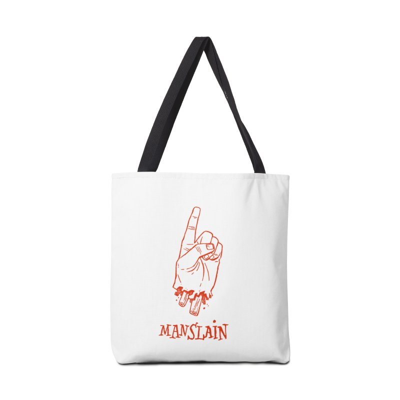 MANSLAIN Accessories Tote Bag Bag by Dustin Harbin's Sweet T's!