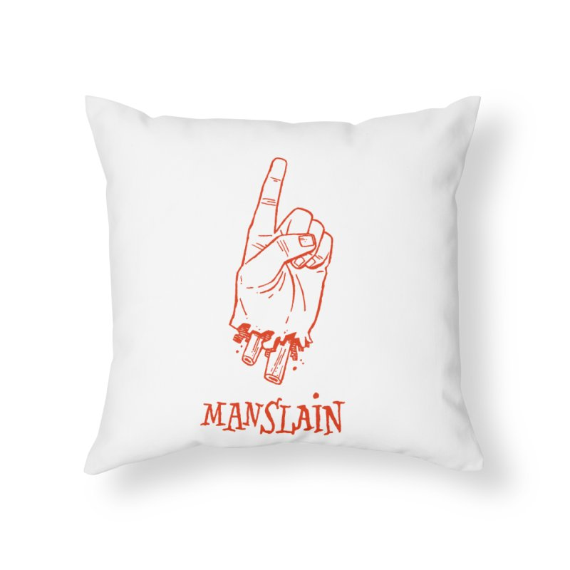 MANSLAIN Home Throw Pillow by Dustin Harbin's Sweet T's!