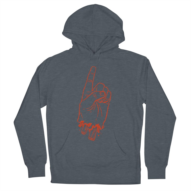 MANSLAIN Women's French Terry Pullover Hoody by Dustin Harbin's Sweet T's!