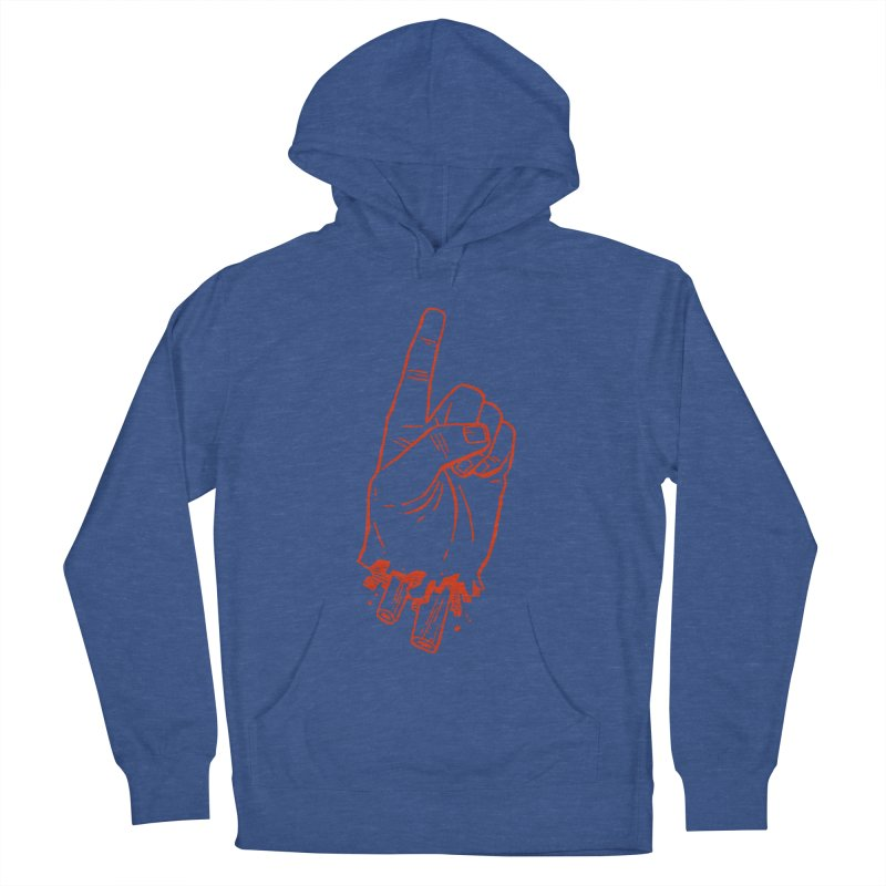 MANSLAIN Men's French Terry Pullover Hoody by Dustin Harbin's Sweet T's!