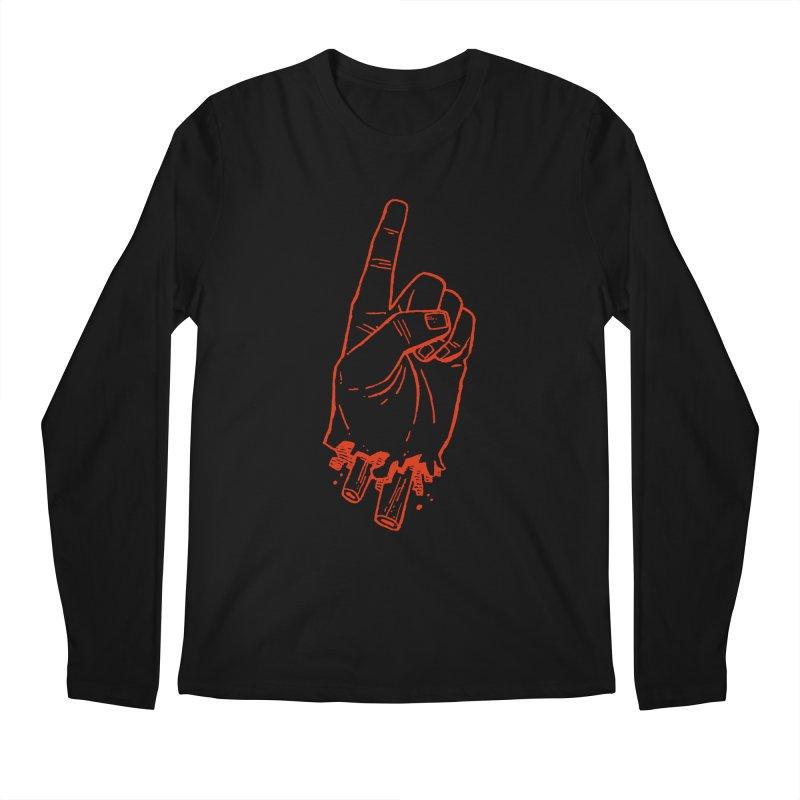 MANSLAIN Men's Longsleeve T-Shirt by Dustin Harbin's Sweet T's!