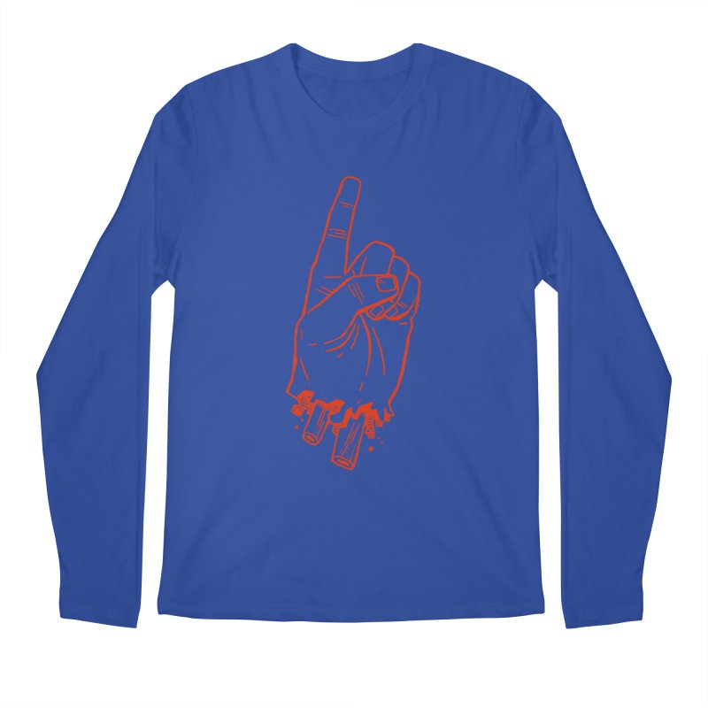MANSLAIN Men's Longsleeve T-Shirt by Dustin Harbin's Sweet T's!