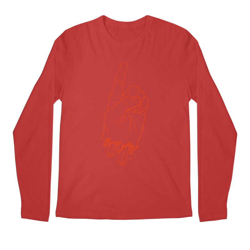 MANSLAIN Men's Regular Longsleeve T-Shirt by Dustin Harbin's Sweet T's!