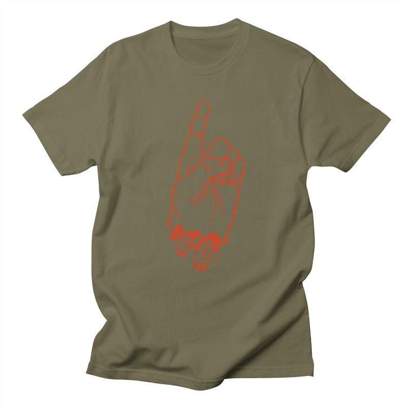 MANSLAIN Women's Regular Unisex T-Shirt by Dustin Harbin's Sweet T's!