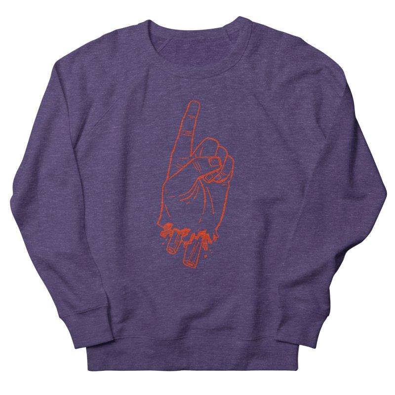 MANSLAIN Men's French Terry Sweatshirt by Dustin Harbin's Sweet T's!