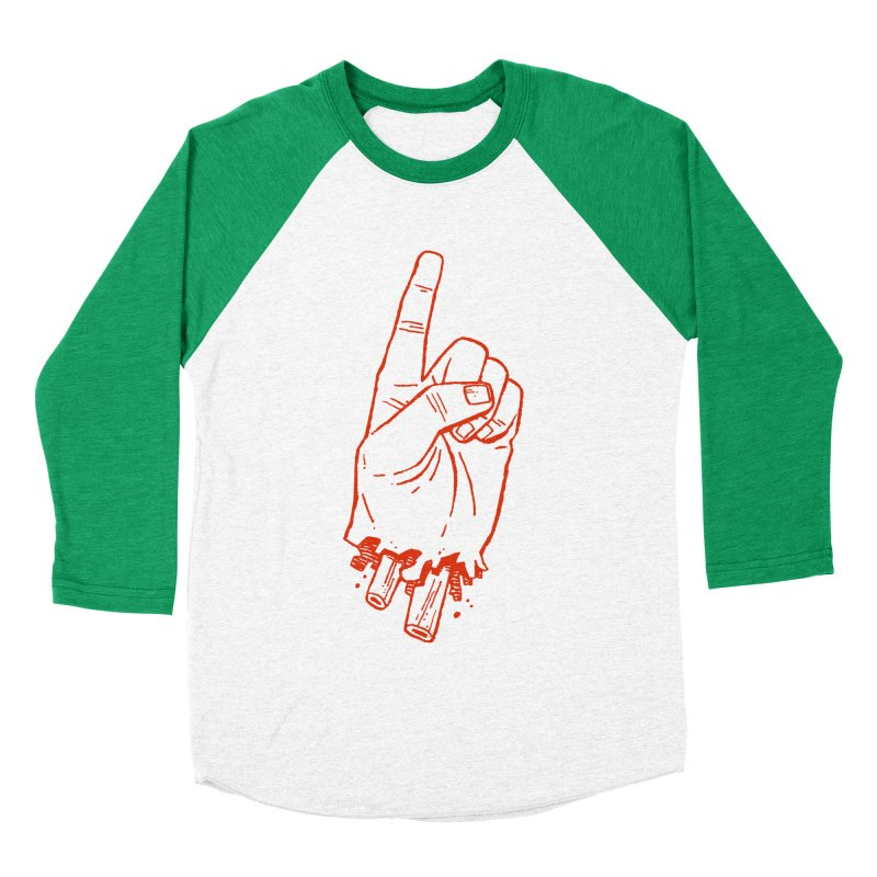 MANSLAIN Men's Baseball Triblend T-Shirt by Dustin Harbin's Sweet T's!