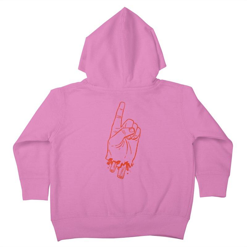 MANSLAIN Kids Toddler Zip-Up Hoody by Dustin Harbin's Sweet T's!