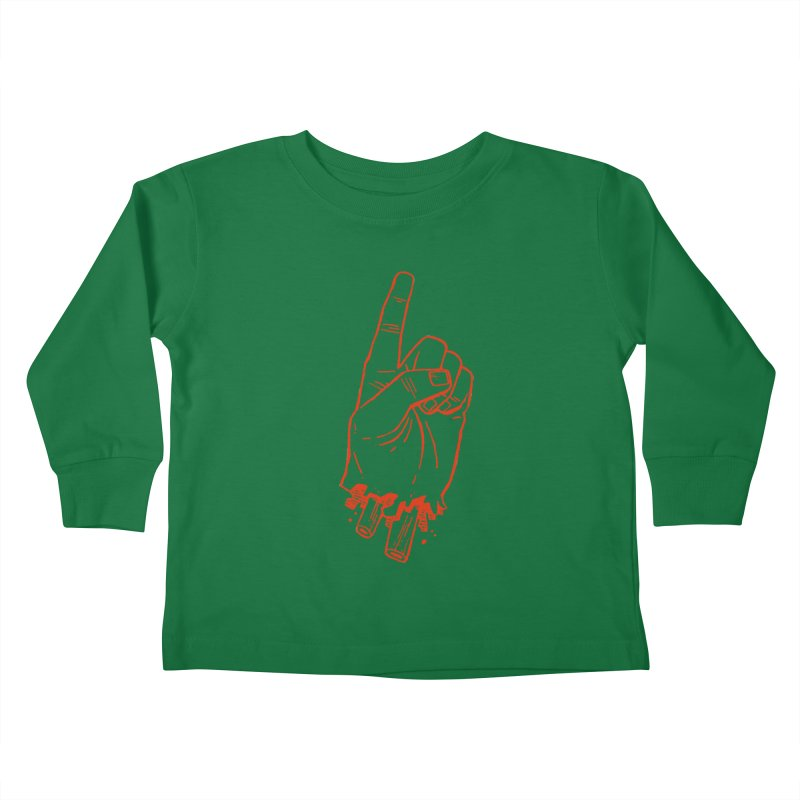 MANSLAIN Kids Toddler Longsleeve T-Shirt by Dustin Harbin's Sweet T's!