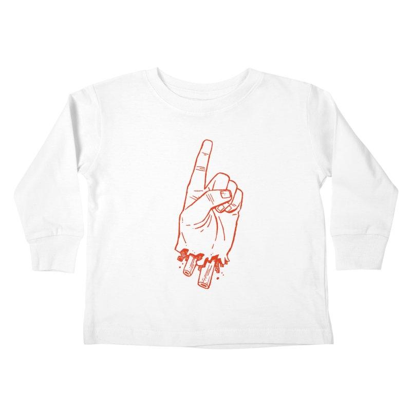 MANSLAIN Kids Toddler Longsleeve T-Shirt by Dustin Harbin's Sweet T's!