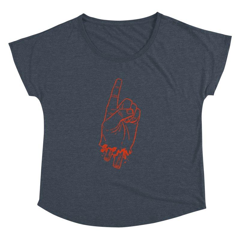 MANSLAIN Women's Dolman by Dustin Harbin's Sweet T's!