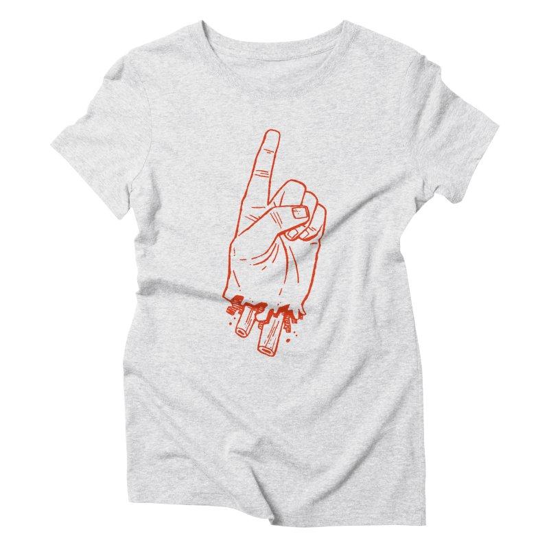 MANSLAIN Women's Triblend T-Shirt by Dustin Harbin's Sweet T's!