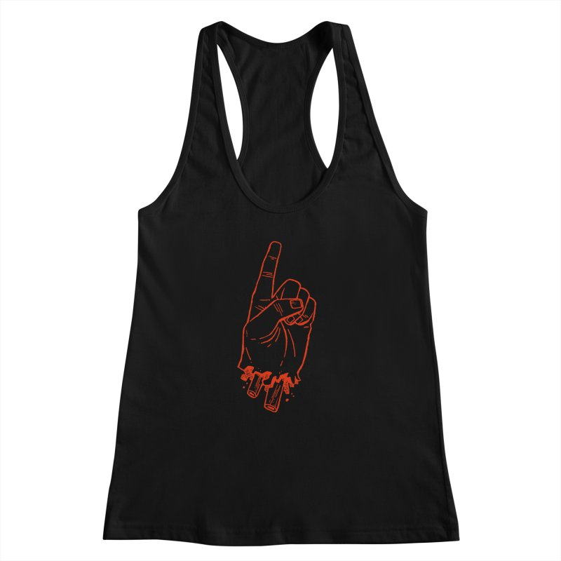 MANSLAIN Women's Racerback Tank by Dustin Harbin's Sweet T's!