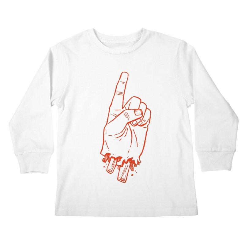 MANSLAIN Kids Longsleeve T-Shirt by Dustin Harbin's Sweet T's!