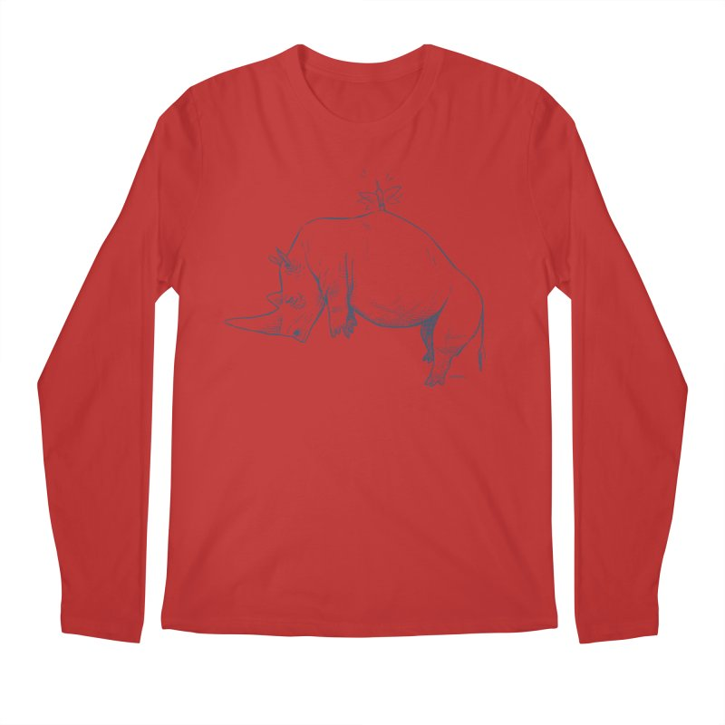 HANG IN THERE!! Men's Longsleeve T-Shirt by Dustin Harbin's Sweet T's!