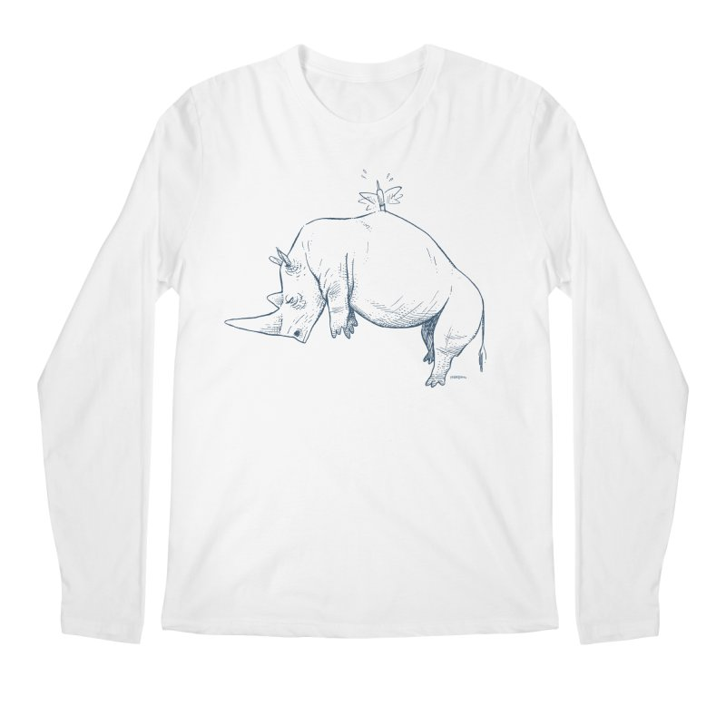 HANG IN THERE!! Men's Regular Longsleeve T-Shirt by Dustin Harbin's Sweet T's!