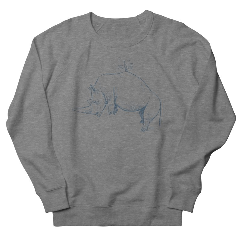 HANG IN THERE!! Men's French Terry Sweatshirt by Dustin Harbin's Sweet T's!