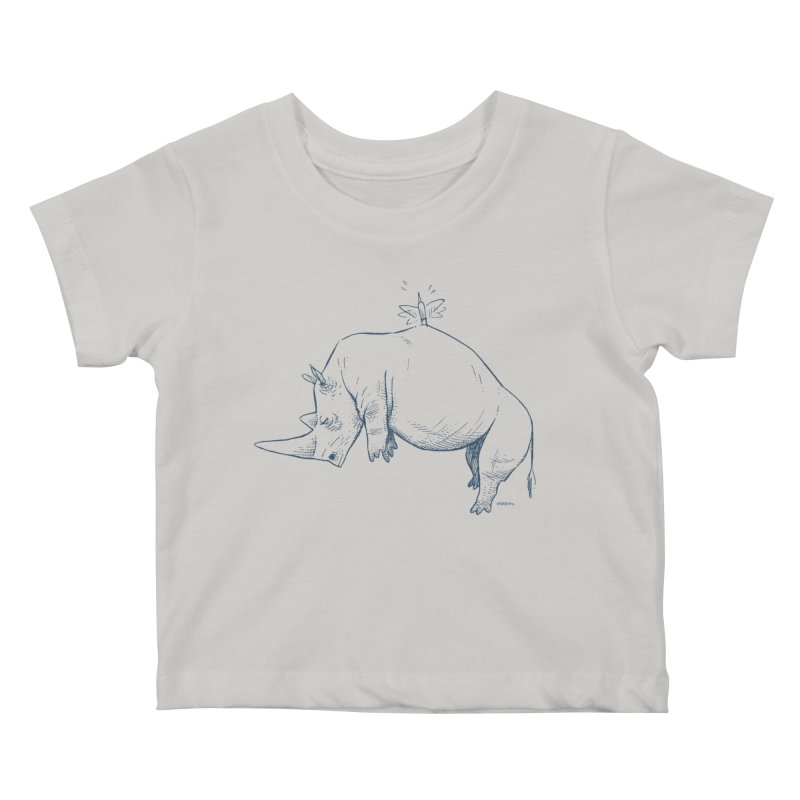 HANG IN THERE!! Kids Baby T-Shirt by Dustin Harbin's Sweet T's!