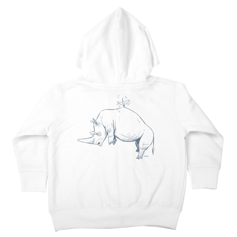 HANG IN THERE!! Kids Toddler Zip-Up Hoody by Dustin Harbin's Sweet T's!