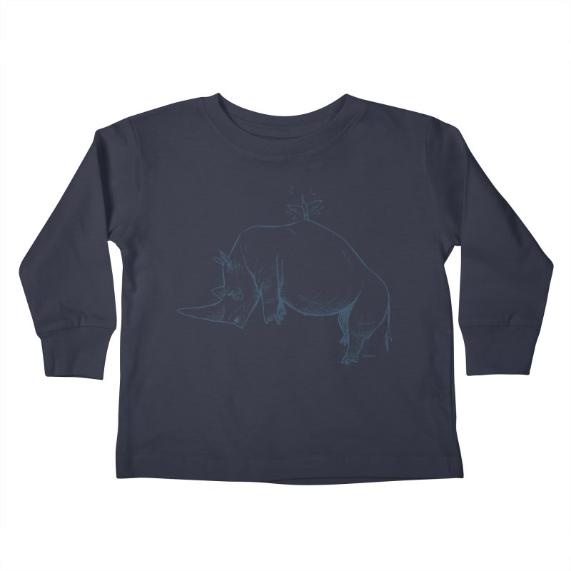 HANG IN THERE!! Kids Toddler Longsleeve T-Shirt by Dustin Harbin's Sweet T's!