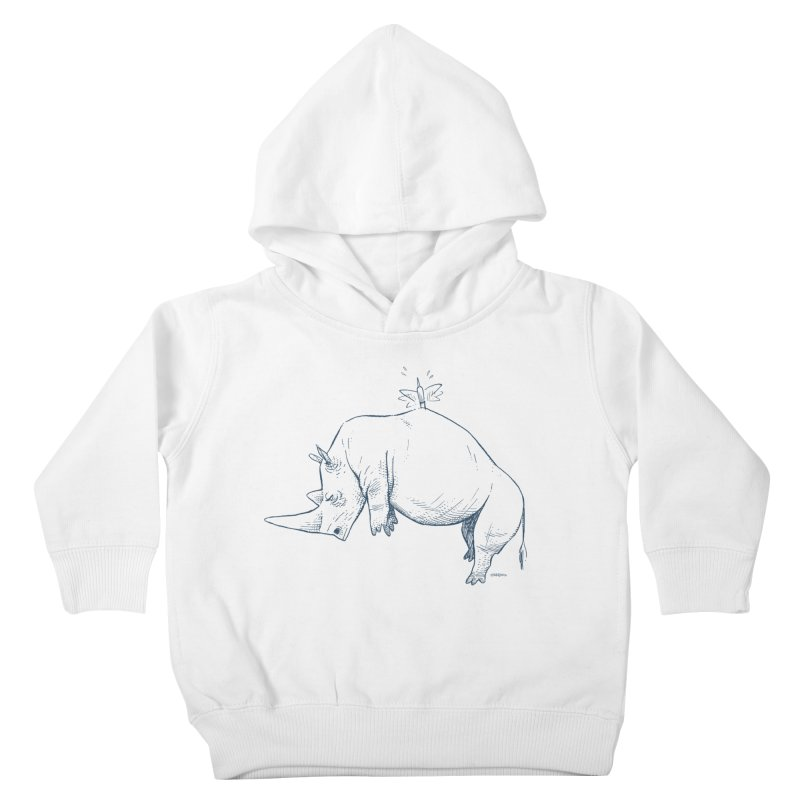 HANG IN THERE!! Kids Toddler Pullover Hoody by Dustin Harbin's Sweet T's!