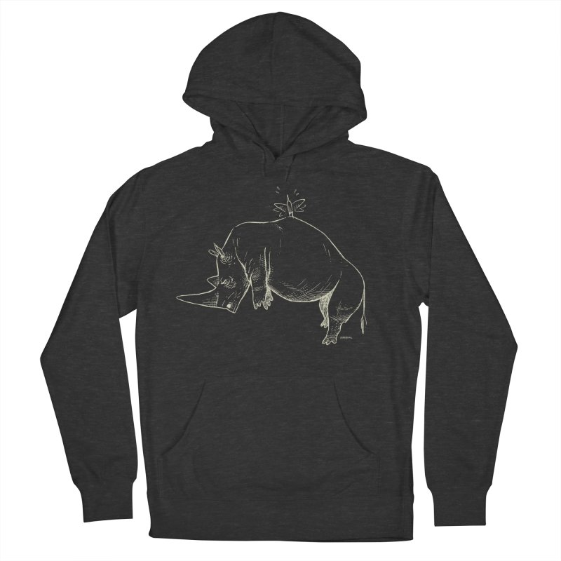 HANG IN THERE!! (light-on-dark design) Men's Pullover Hoody by Dustin Harbin's Sweet T's!