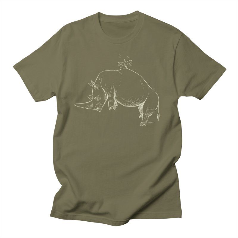 HANG IN THERE!! (light-on-dark design) Women's Unisex T-Shirt by Dustin Harbin's Sweet T's!