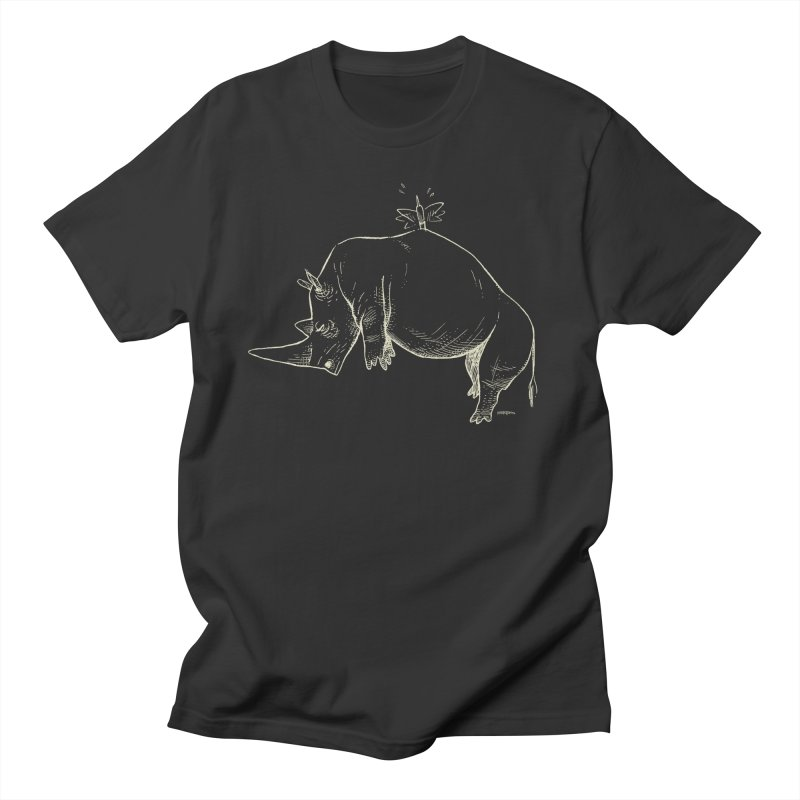 HANG IN THERE!! (light-on-dark design) Men's T-Shirt by Dustin Harbin's Sweet T's!