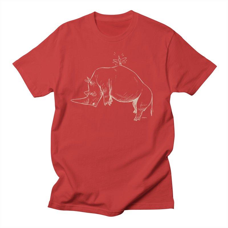 HANG IN THERE!! (light-on-dark design) Women's Regular Unisex T-Shirt by Dustin Harbin's Sweet T's!