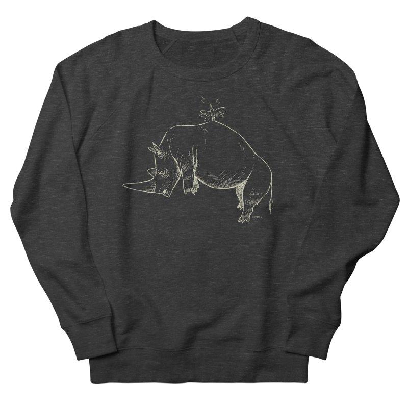 HANG IN THERE!! (light-on-dark design) Men's Sweatshirt by Dustin Harbin's Sweet T's!