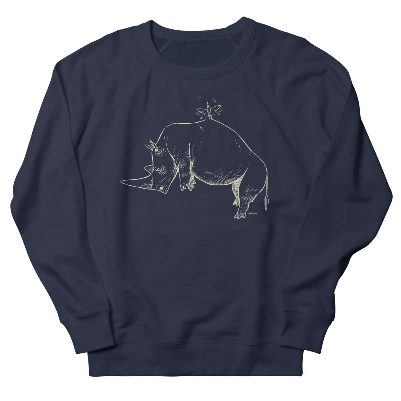 HANG IN THERE!! (light-on-dark design) Men's Sweatshirt by Dustin Harbin's Sweet T's!