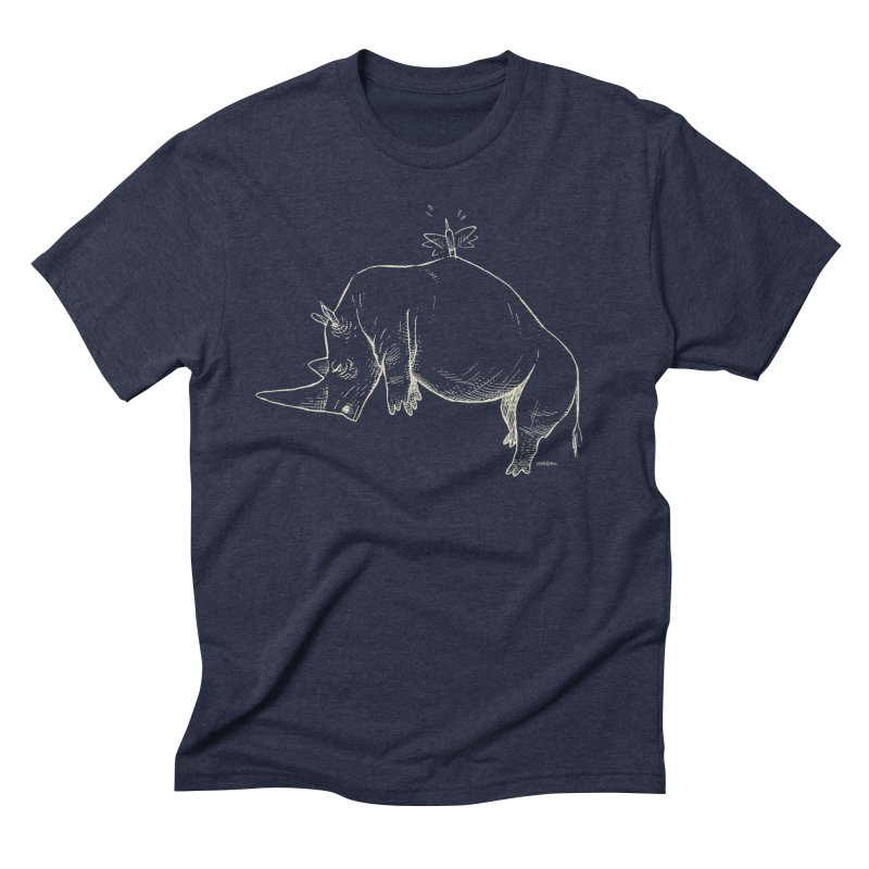 HANG IN THERE!! (light-on-dark design) Men's Triblend T-Shirt by Dustin Harbin's Sweet T's!