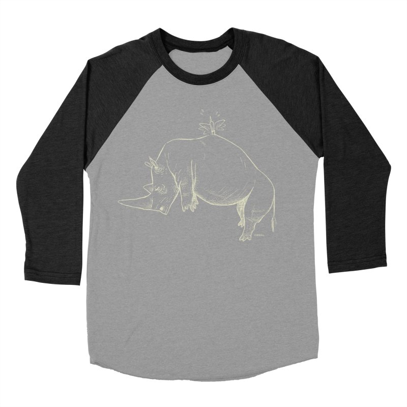 HANG IN THERE!! (light-on-dark design) Women's Baseball Triblend T-Shirt by Dustin Harbin's Sweet T's!