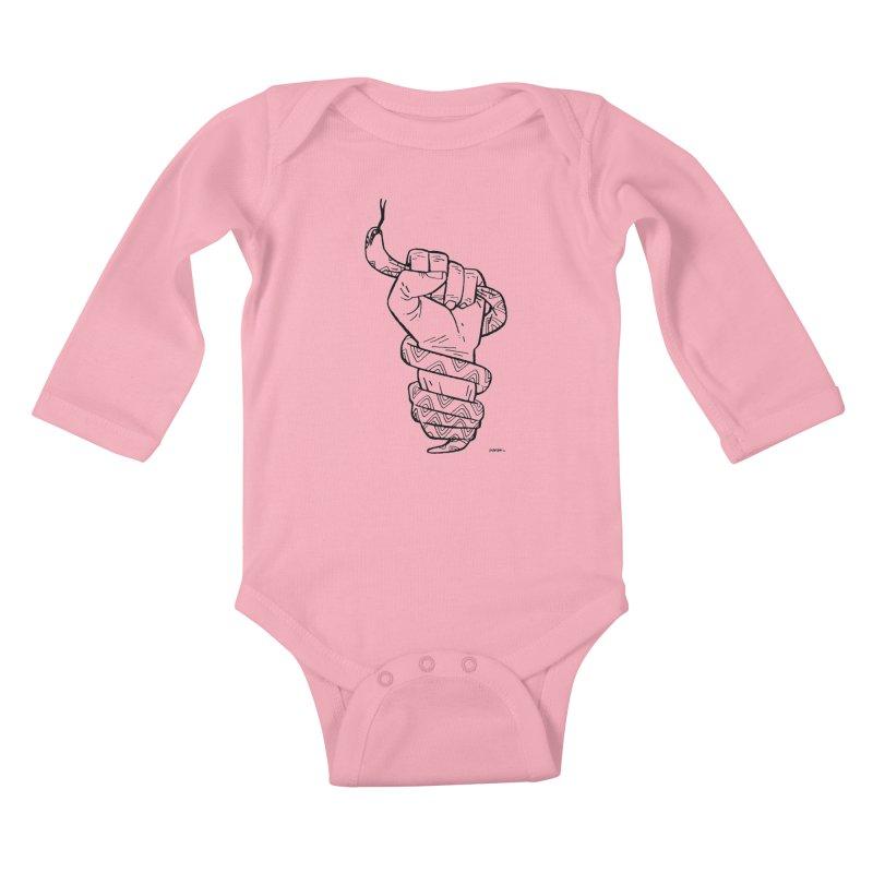 RESIST! Kids Baby Longsleeve Bodysuit by Dustin Harbin's Sweet T's!