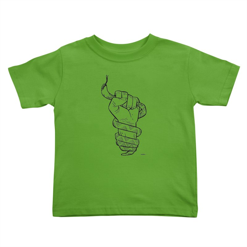 RESIST! Kids Toddler T-Shirt by Dustin Harbin's Sweet T's!