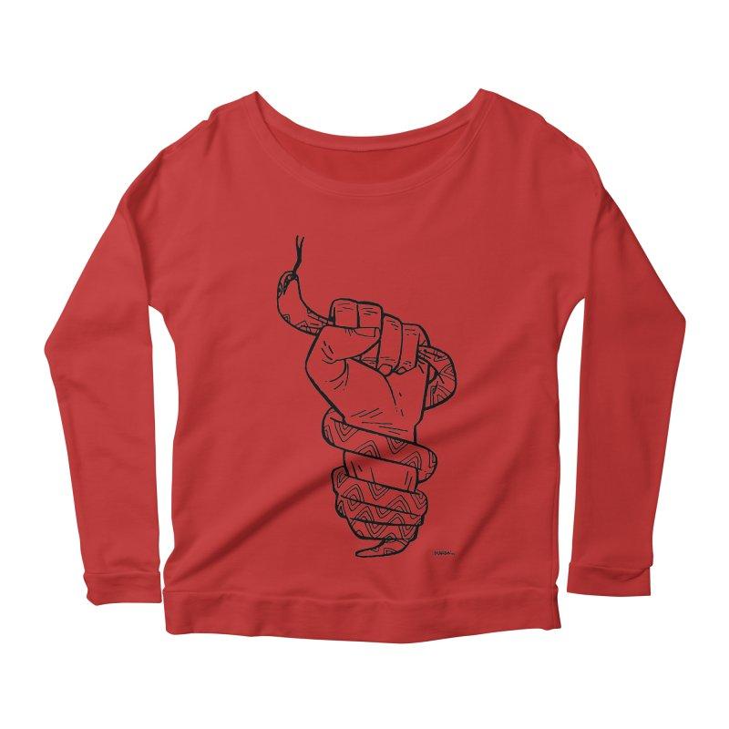 RESIST! Women's Scoop Neck Longsleeve T-Shirt by Dustin Harbin's Sweet T's!