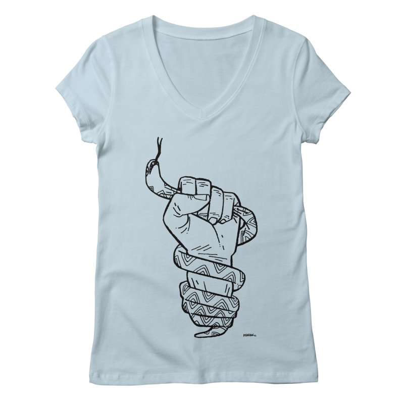 RESIST! Women's V-Neck by Dustin Harbin's Sweet T's!
