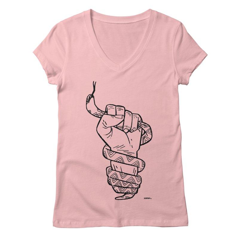 RESIST! Women's Regular V-Neck by Dustin Harbin's Sweet T's!