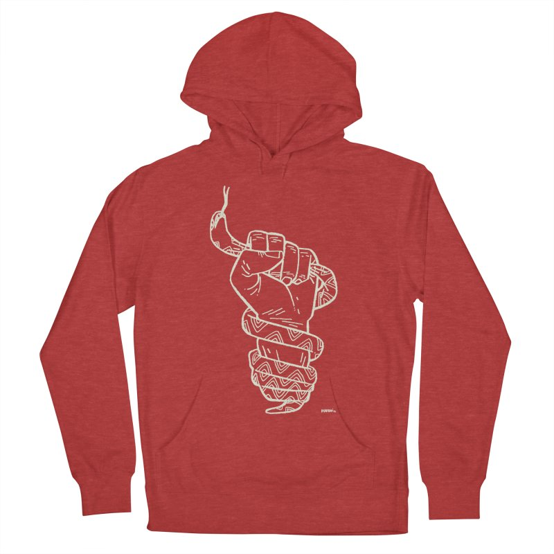 RESIST! (light color) Men's French Terry Pullover Hoody by Dustin Harbin's Sweet T's!