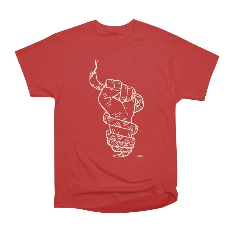 RESIST! (light color) Women's Heavyweight Unisex T-Shirt by Dustin Harbin's Sweet T's!