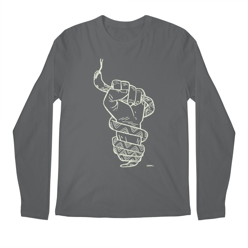 RESIST! (light color) Men's Regular Longsleeve T-Shirt by Dustin Harbin's Sweet T's!