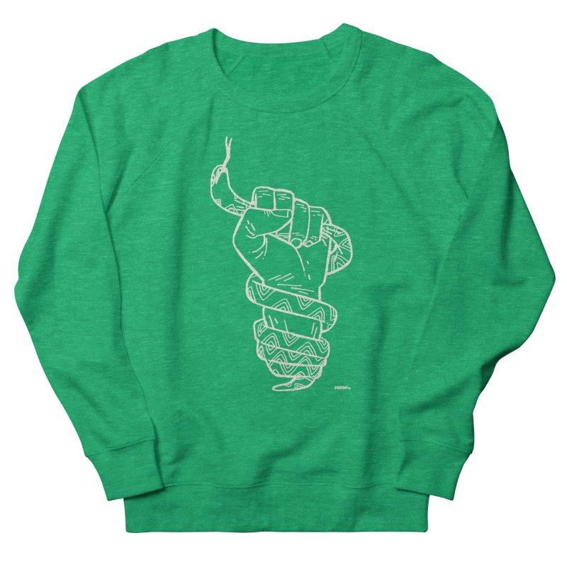 RESIST! (light color) Women's French Terry Sweatshirt by Dustin Harbin's Sweet T's!