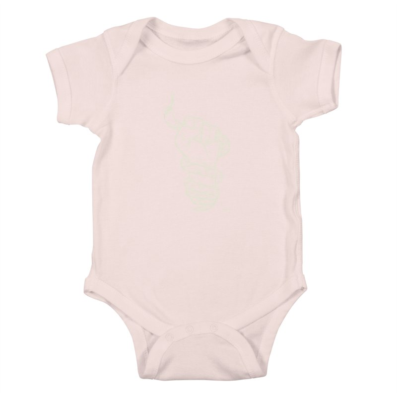 RESIST! (light color) Kids Baby Bodysuit by Dustin Harbin's Sweet T's!