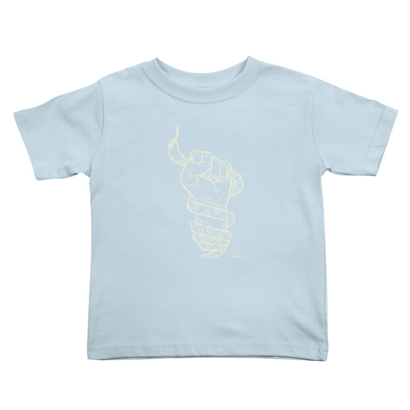 RESIST! (light color) Kids Toddler T-Shirt by Dustin Harbin's Sweet T's!