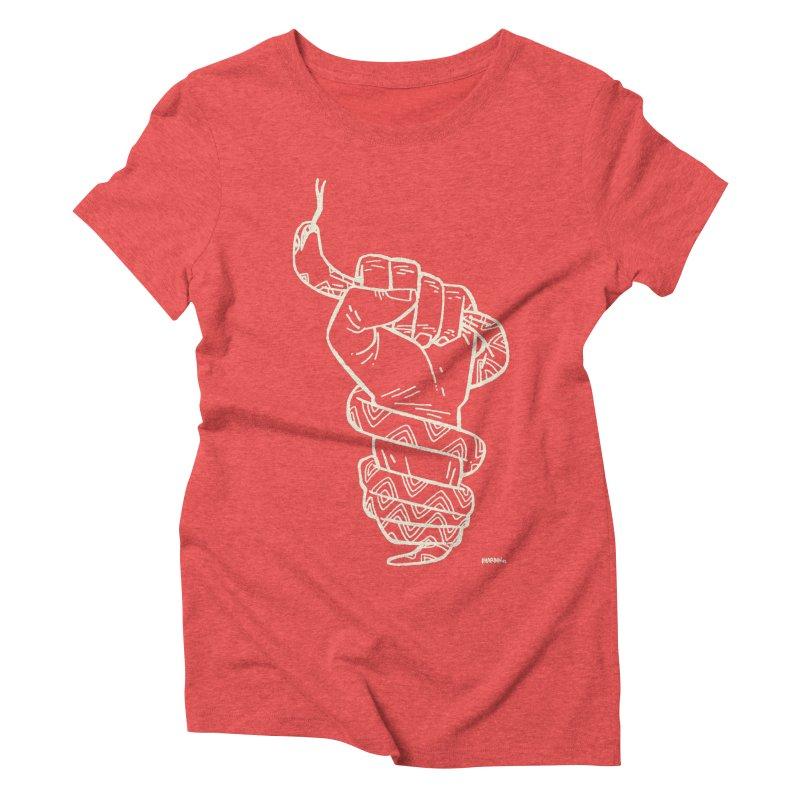 RESIST! (light color) Women's Triblend T-Shirt by Dustin Harbin's Sweet T's!