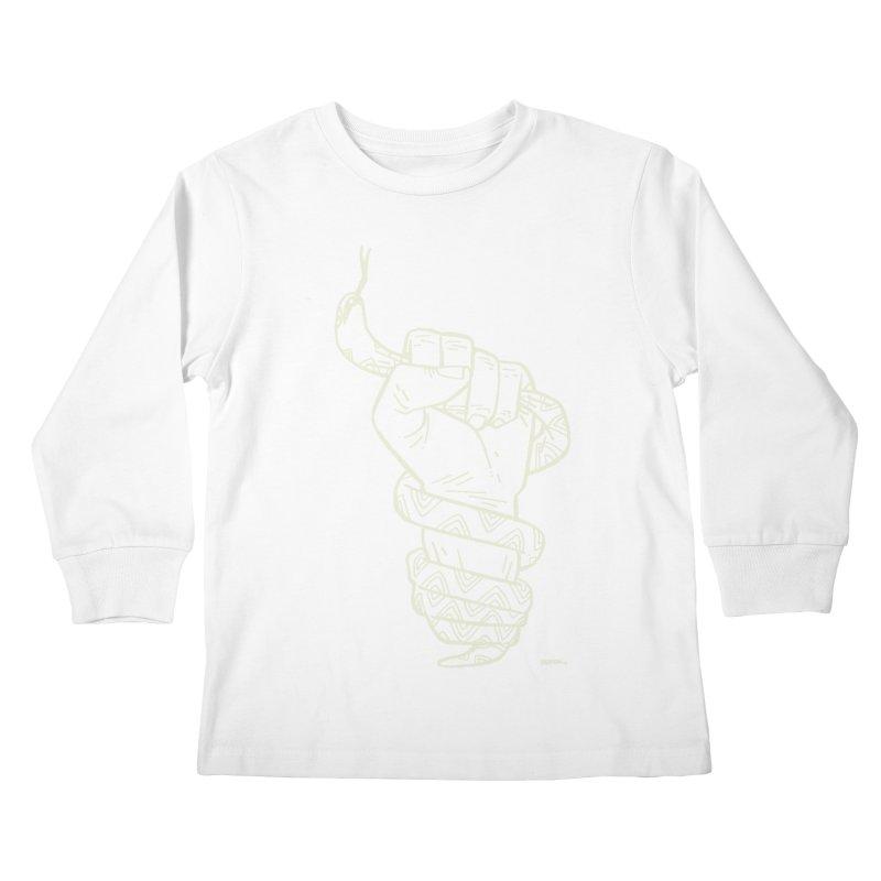 RESIST! (light color) Kids Longsleeve T-Shirt by Dustin Harbin's Sweet T's!