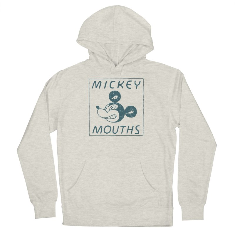 MICKEY MOUTHS Men's Pullover Hoody by Dustin Harbin's Sweet T's!