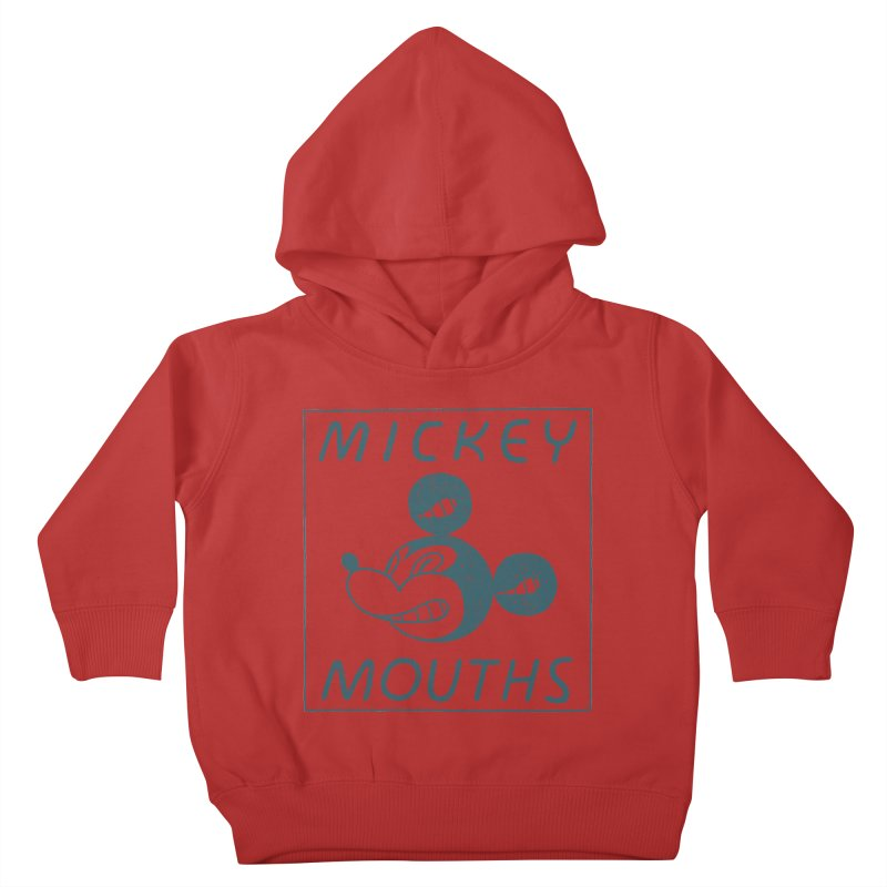 MICKEY MOUTHS Kids Toddler Pullover Hoody by Dustin Harbin's Sweet T's!