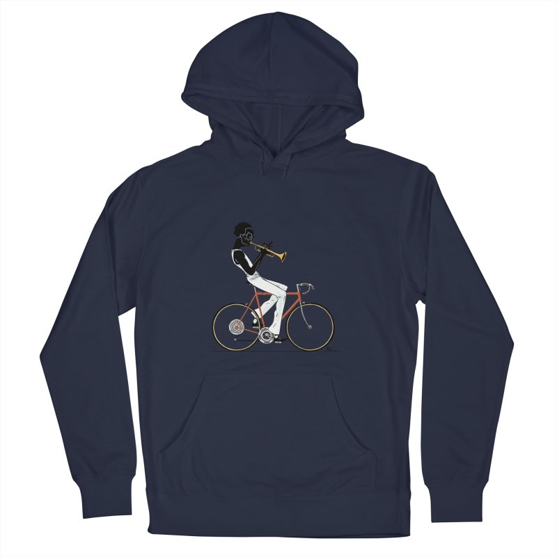MILES BY BICYCLE Women's Pullover Hoody by Dustin Harbin's Sweet T's!